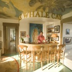 Little Whale House bar